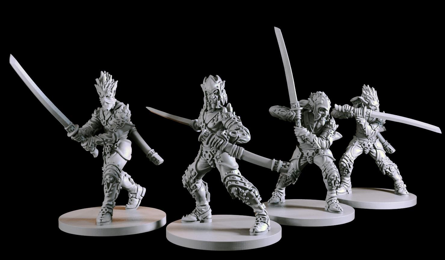 Michael jenkins swordsmen