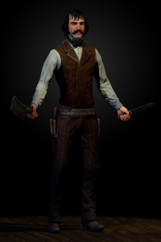 Artstation Bill The Butcher Gangs Of New York Ryan Lindsay