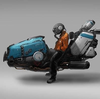 J c park speeder