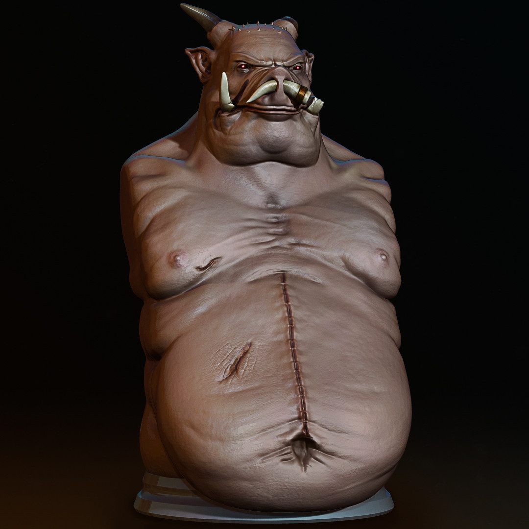 Vitor borsato final demon pig render