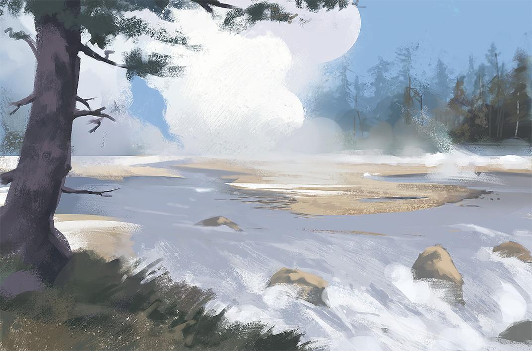 Daily sketches - environments