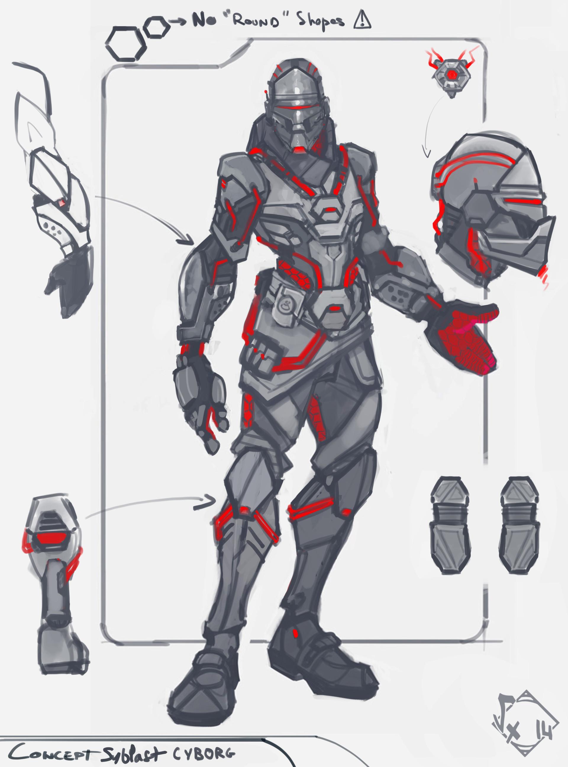 Etienne beschet wip cyborg 01 conceptart 01