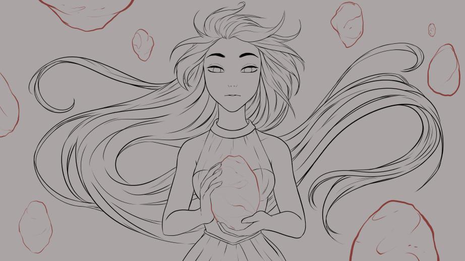 Kala sketch fallingstar2