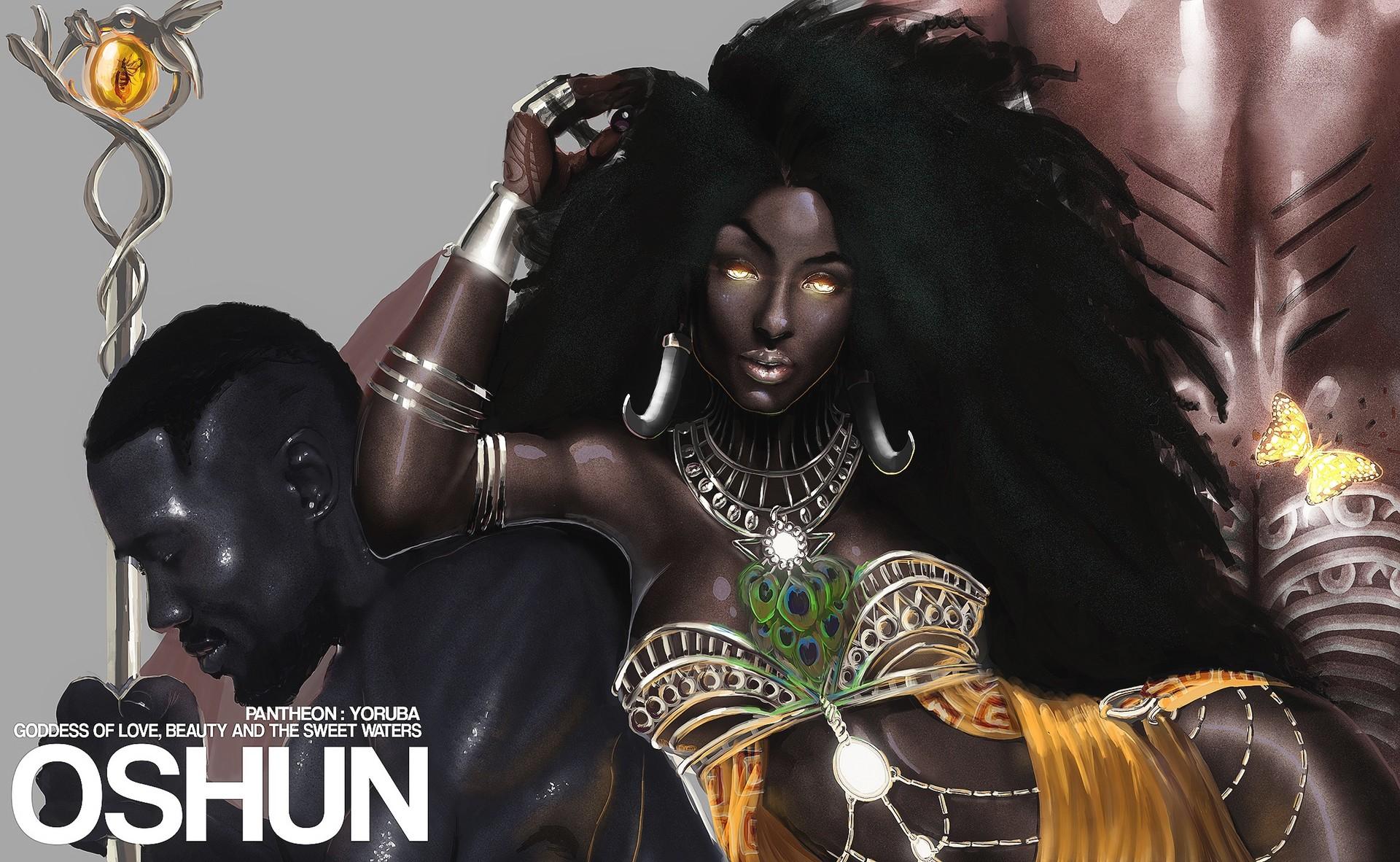 ArtStation - Oshun Goddess of Love, Christopher Pompey