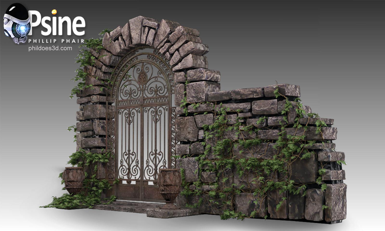 Decorative Gate Model