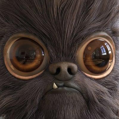 Pablo munoz gomez pug particle comp keyshot