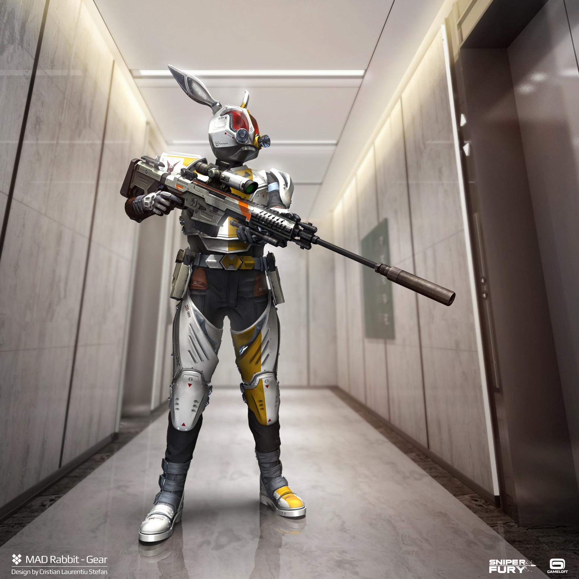 ArtStation - Sniper Fury - Mad Rabbit gear 02, Cristian