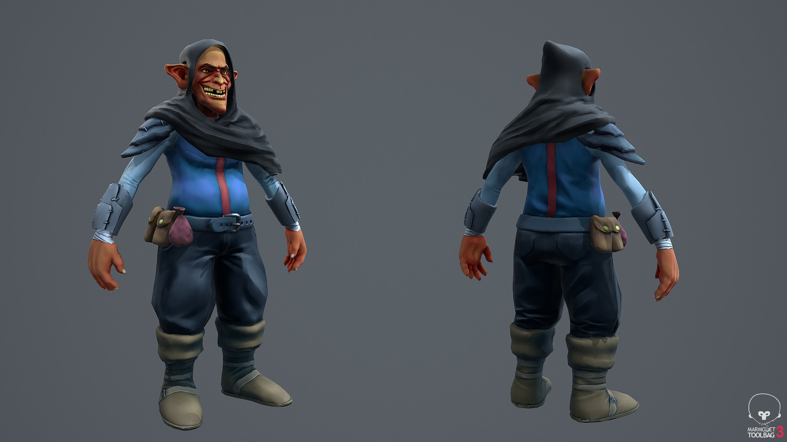 Goblin: front & back
