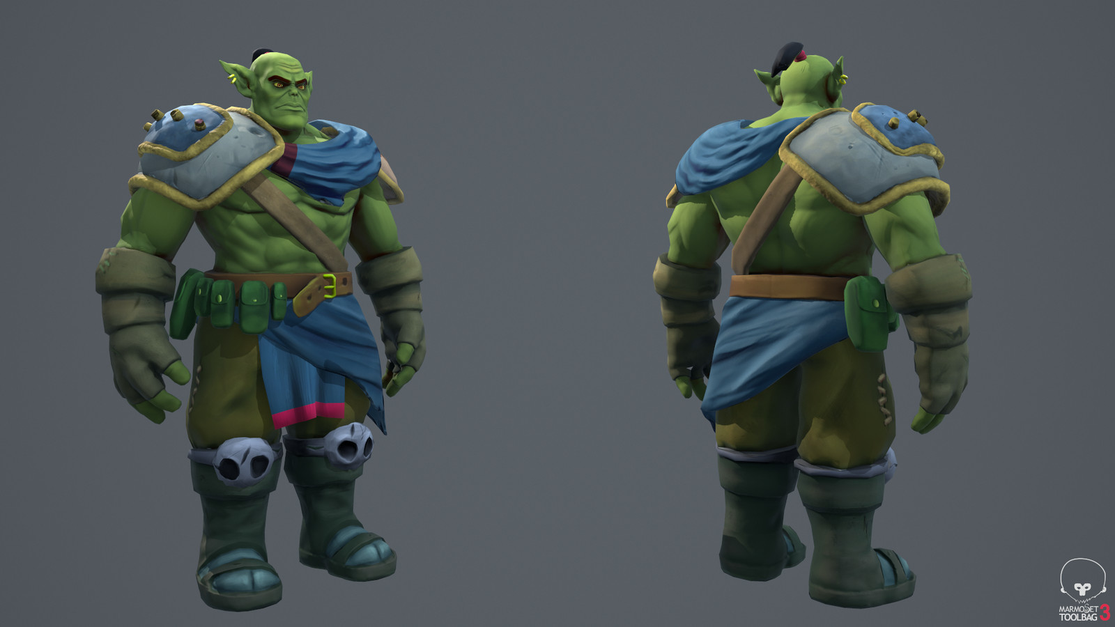 Orc: front & back