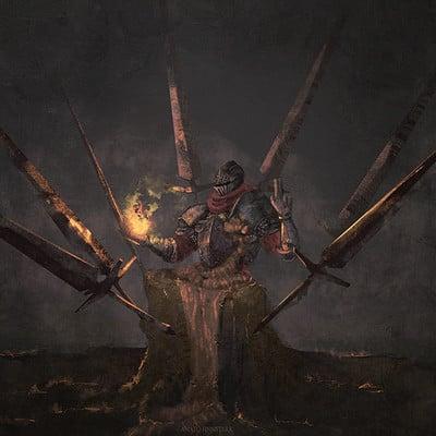 Anato finnstark zenyatta lord of cinder overwatch darksouls by anatofinnstark dcuee7y fullview 2