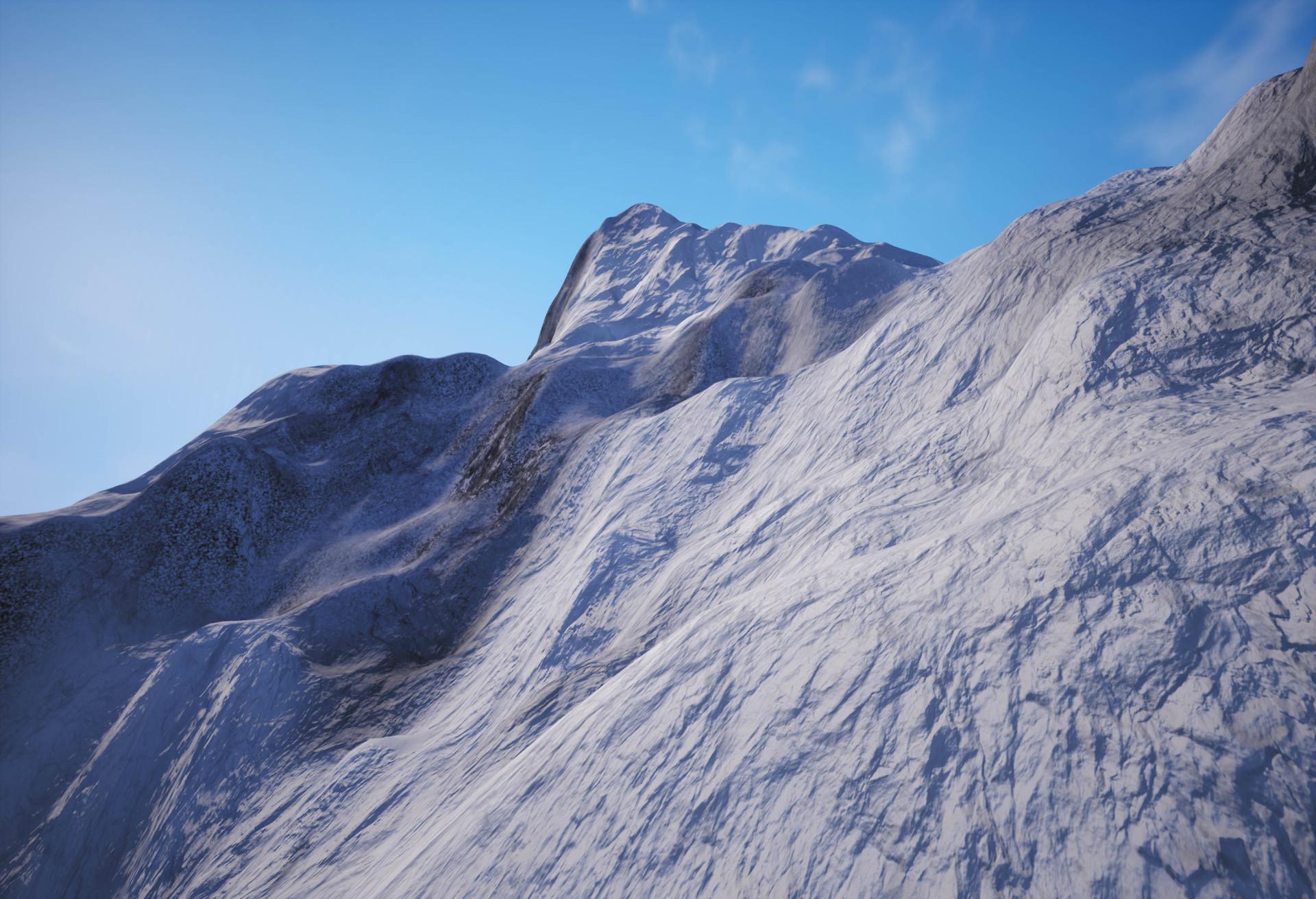 ArtStation - Los Ilinizas Snow Mountains, Franz Vega
