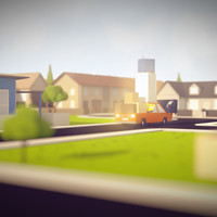 ArtStation - A low poly procedural town generator in Unity3D