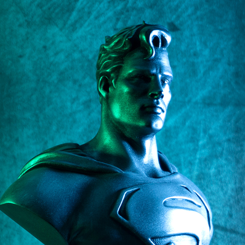 Man of Steel bust (3D Printed fan art)