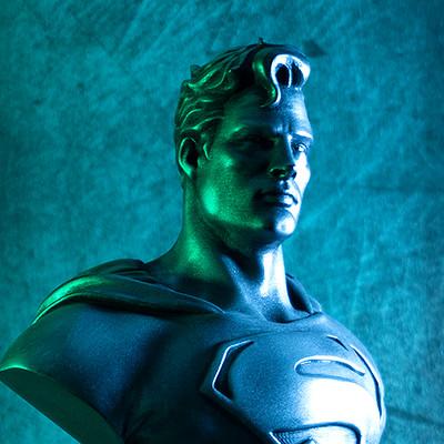 David ostman superman bust thumb color