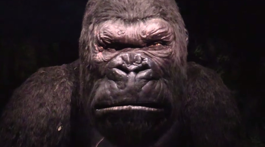 Animatronics for Skull Island: Reign of Kong - Universal Studios Orlando