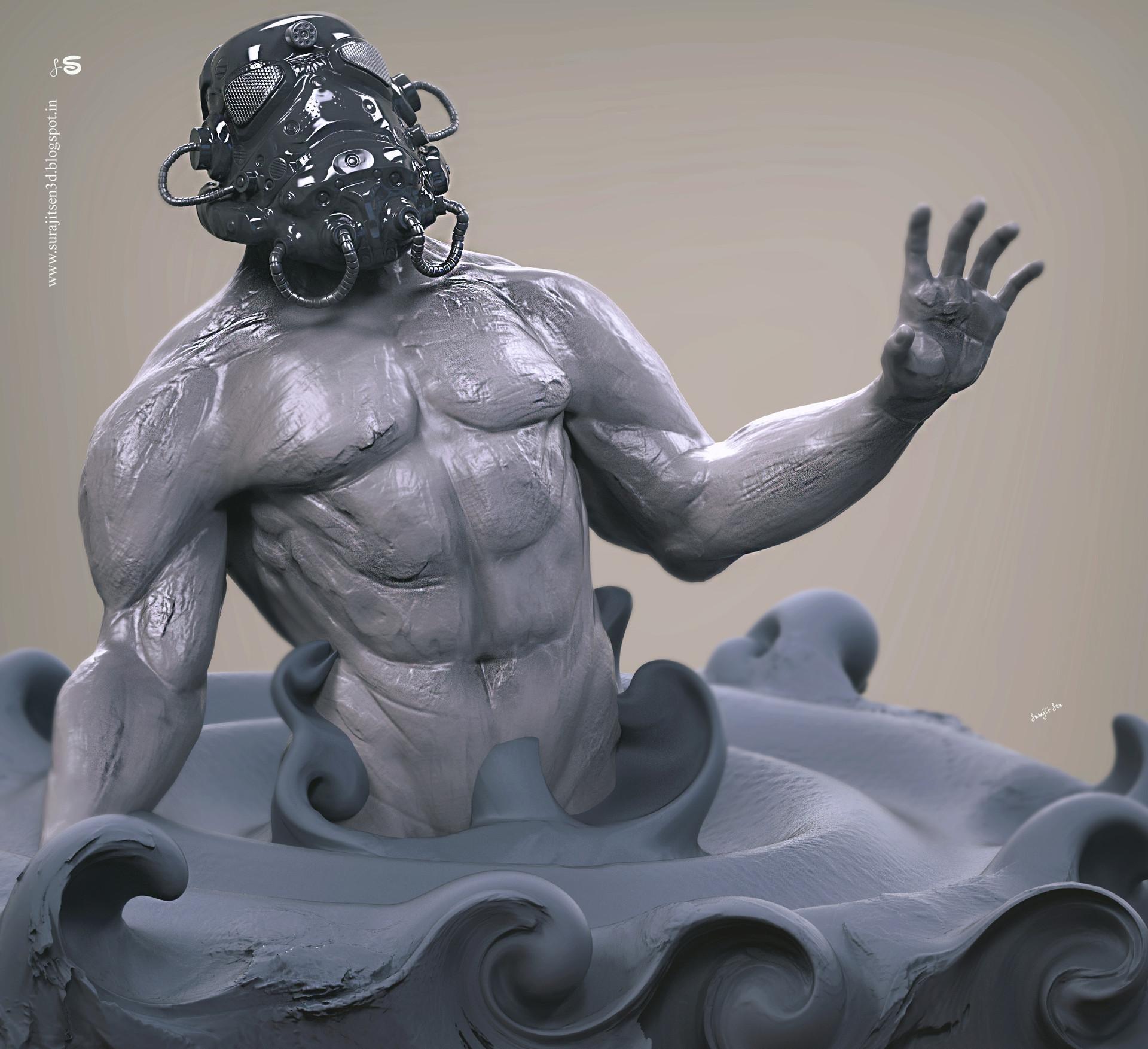 Surajit sen maskman sculpt surajitsen dec2018