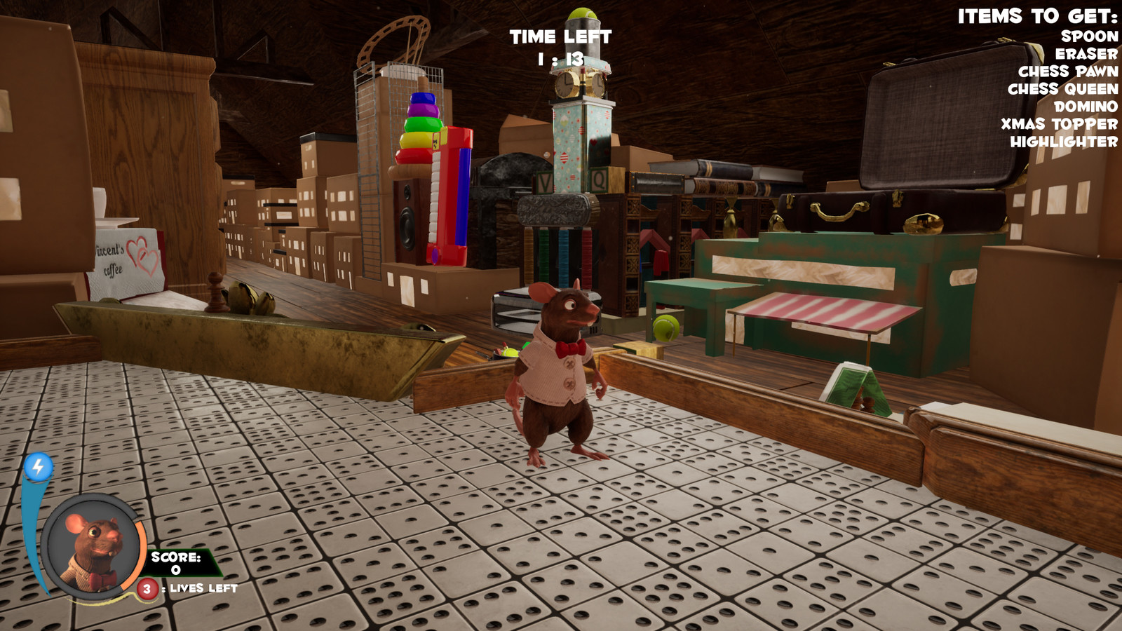 "In game screenshot - The ""town center"" layout was primarily done by me."