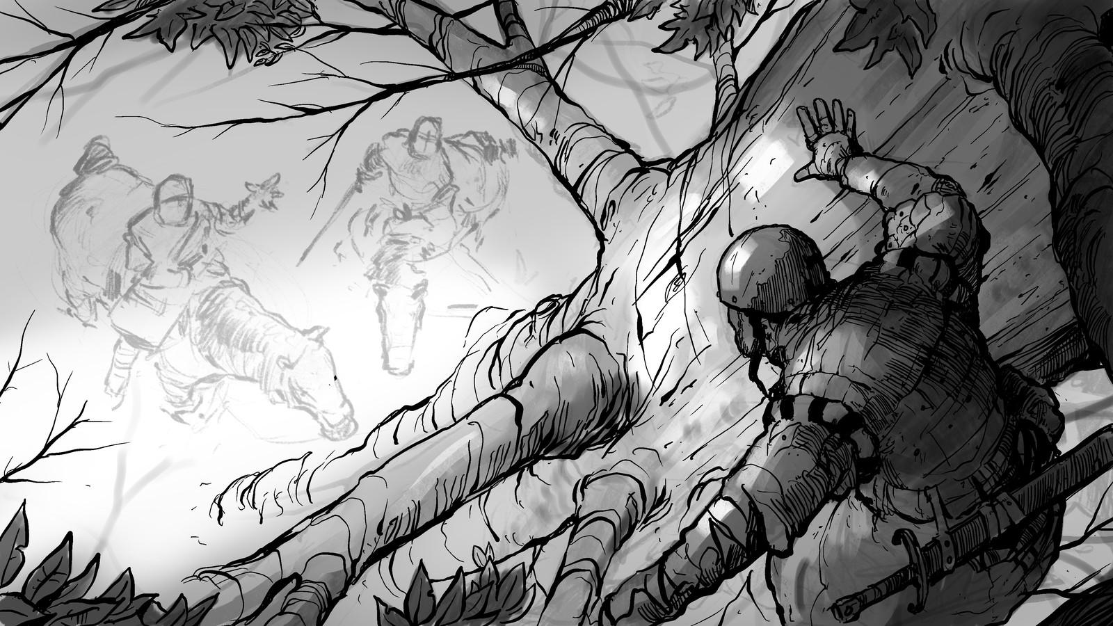 Breakfast Knights #4 Sketch