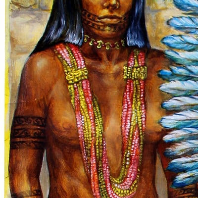 Science meets art tairona woman x 1500