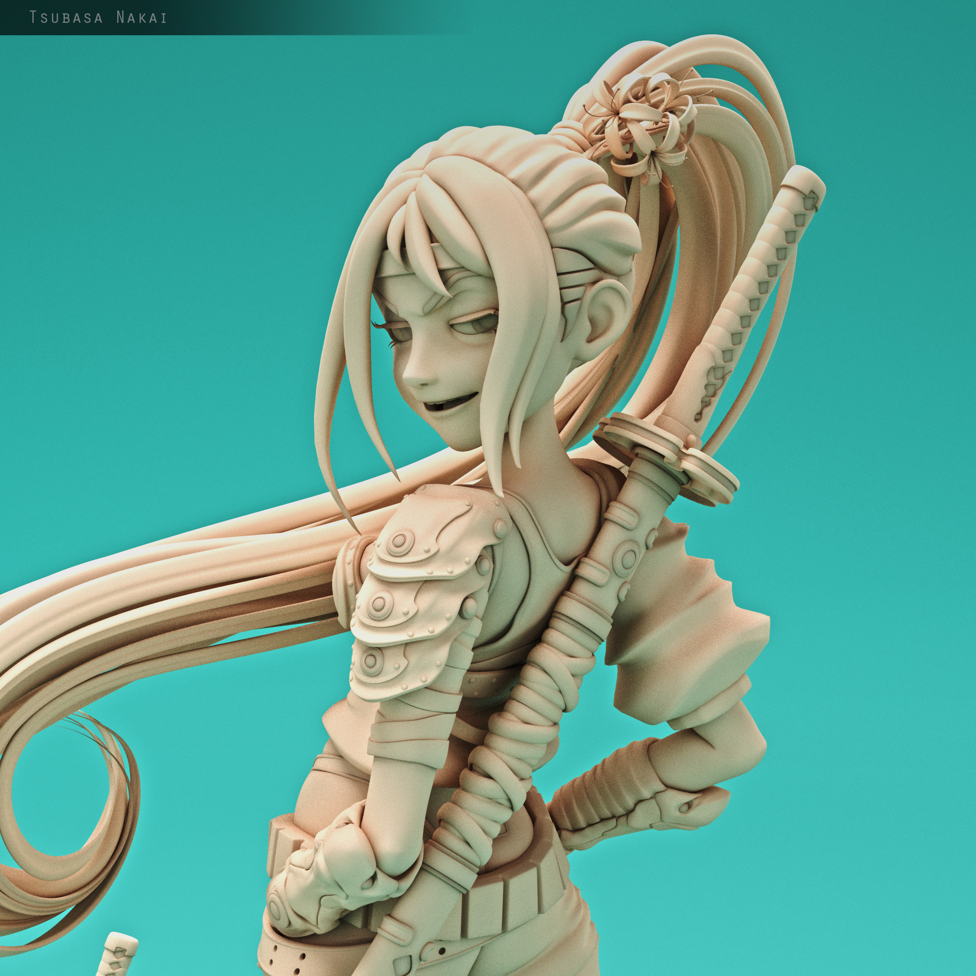 Tsubasa nakai model2