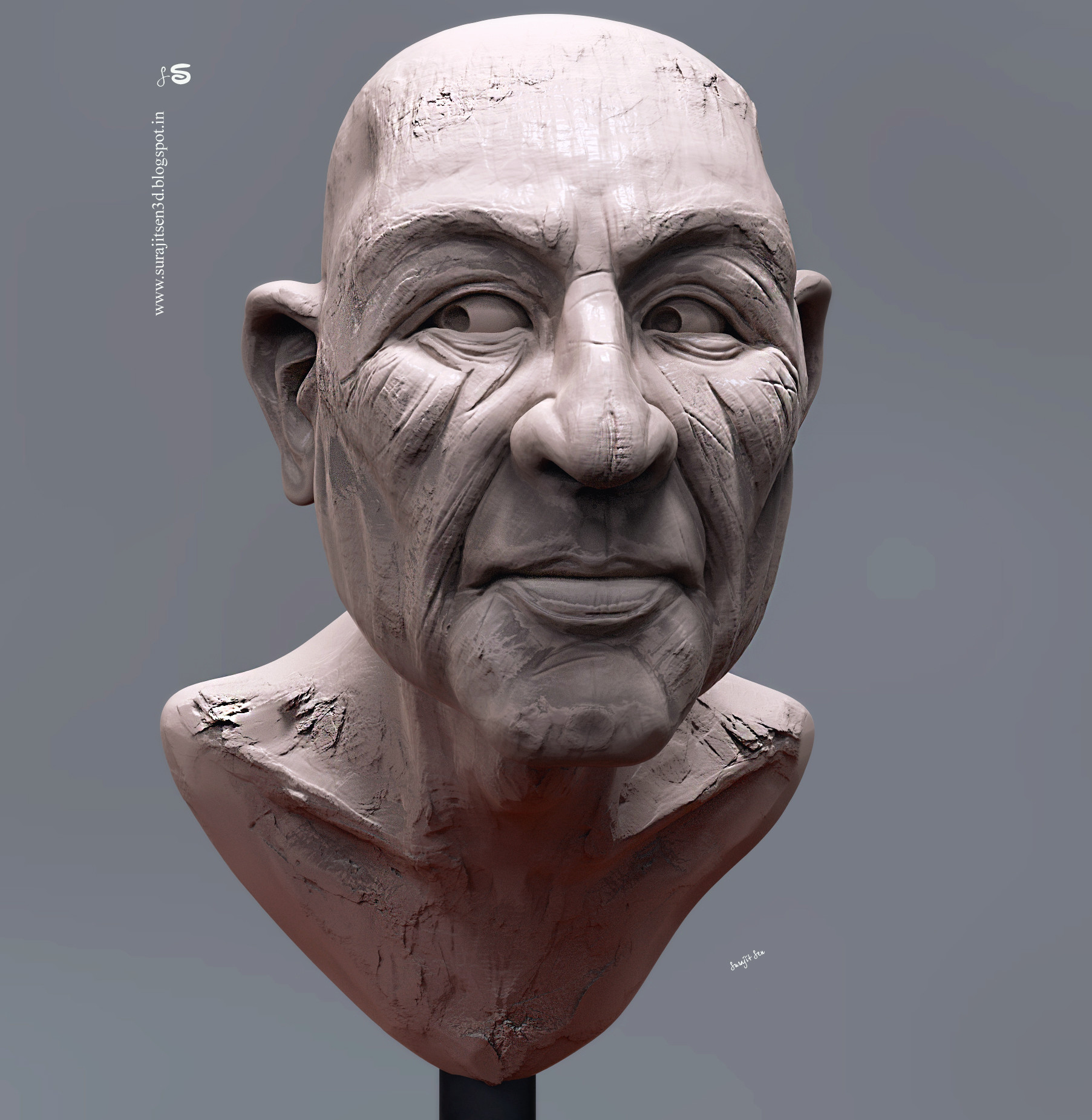 Surajit sen clever digital sculpt by surajitsen dec2018