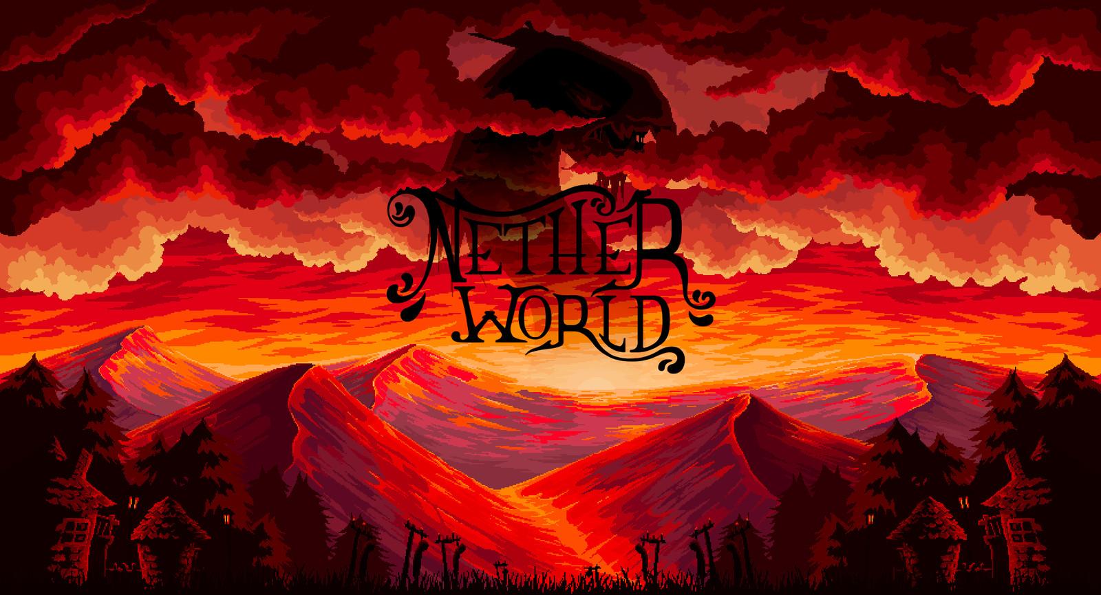 Pixel illustration #15 // NetherWorld Parallax + web design