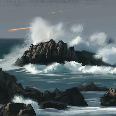 Miguel sastre seawaves study