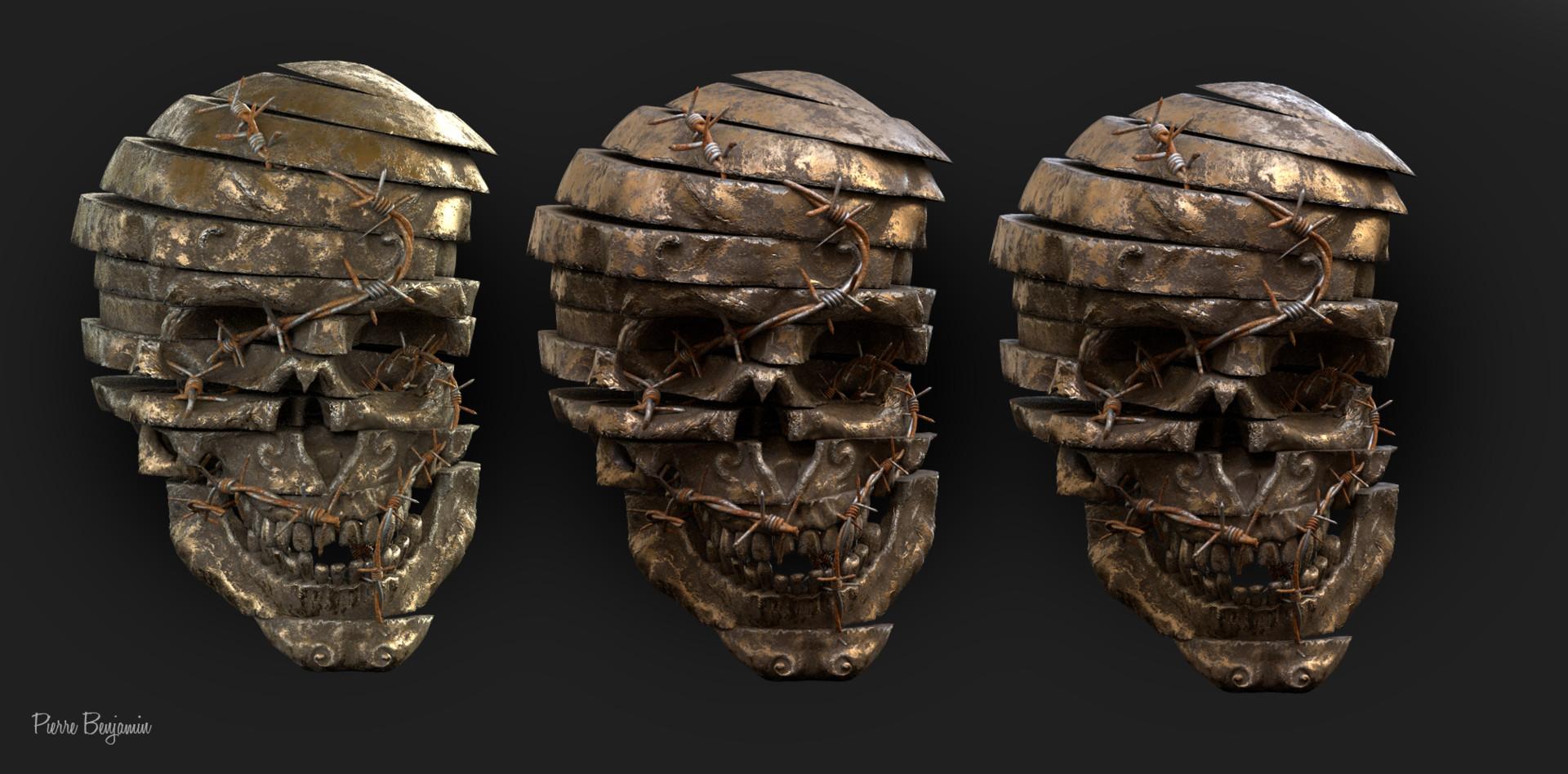 Pierre benjamin skulls render