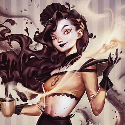 Mioree ppb girl artsan coffee 2018