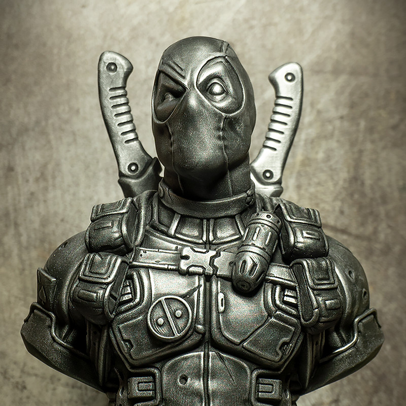 Deadpool bust (3D printed fan art)