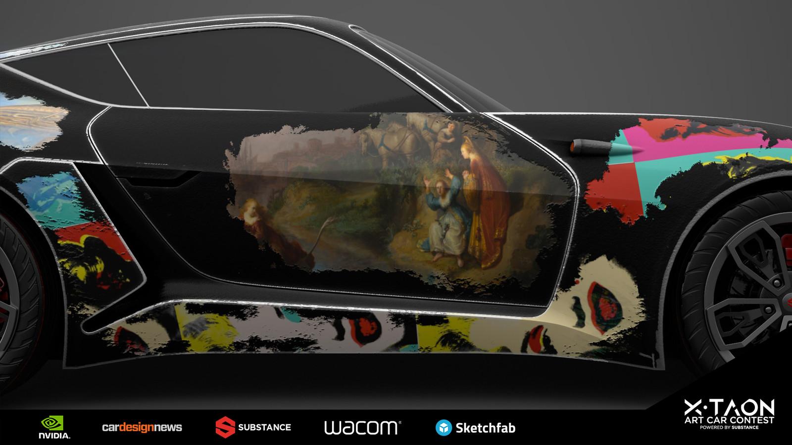 Rembrandt & Warhol