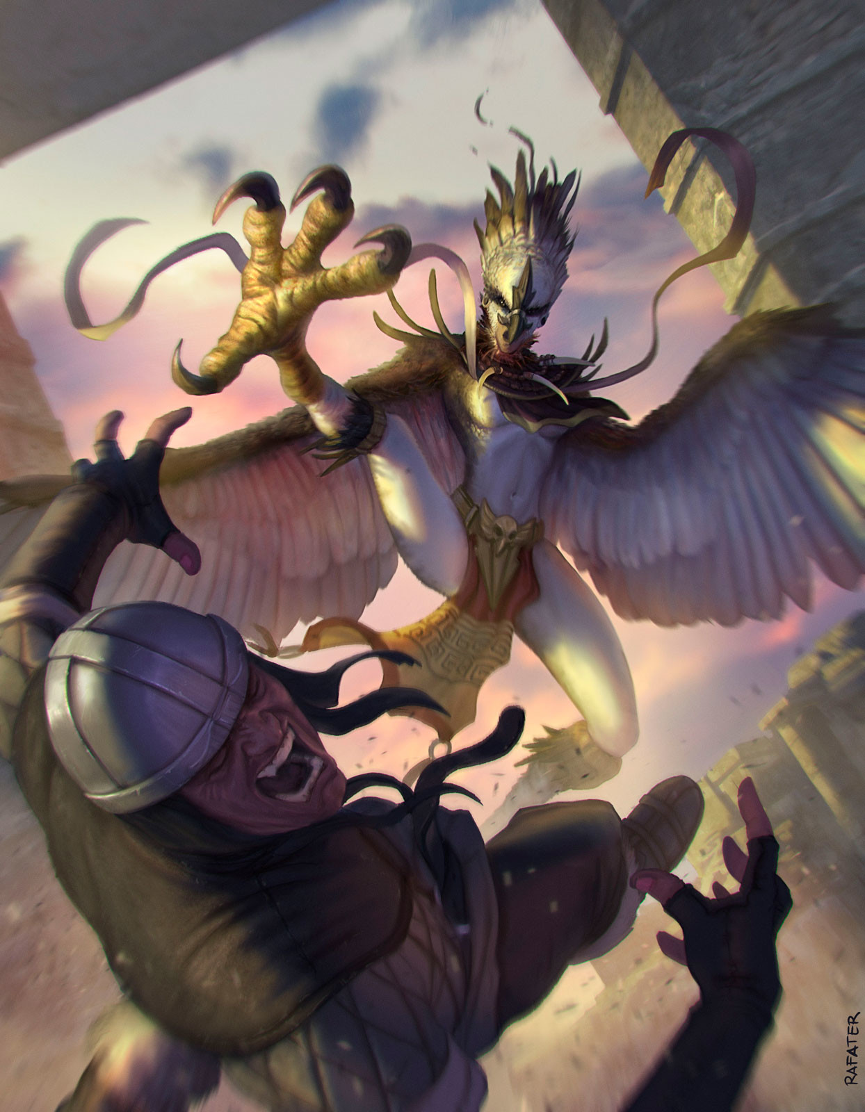 Dragoborne: Raging Harpy