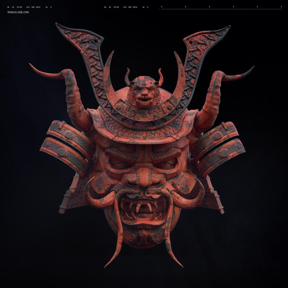 Ry cloze terracotta samurai