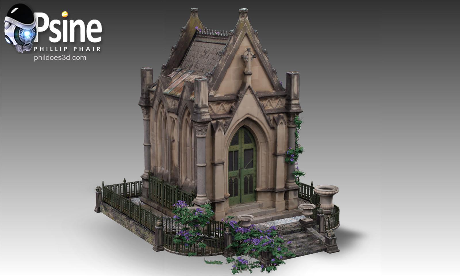 Gothic Folly Model
