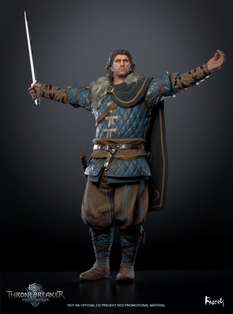Eist was born into Clan Tuirseach on the Skellige Isles and grew up with his brother, Bran. He was an excellent warrior and while his brother was crowned, Eist occupied the position of Jarl of Skellige, the main commander of the military forces.