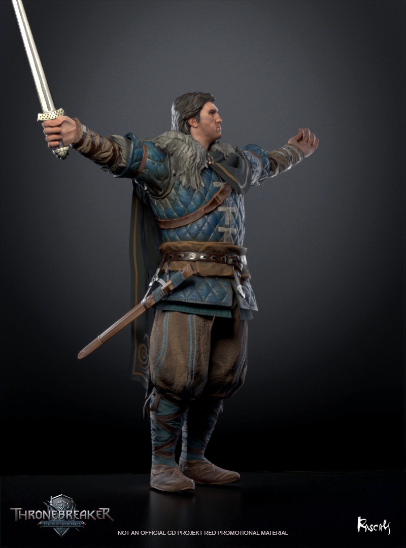 Eist became the King of Cintra via his impromptu marriage to Calanthe and, sometime later, he also gained the crown of Skellige. He ruled with his wife until 1263 when he was killed at the Battle of Marnadal during the Nilfgaardian invasion of Cintra.