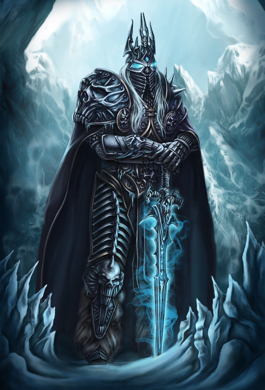 Artstation Arthas The Lich King Kate Draconi