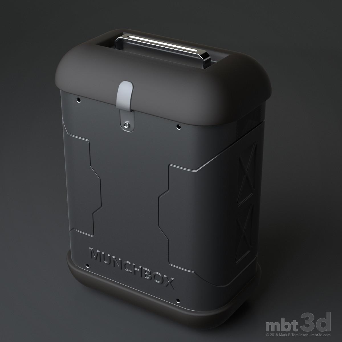 Munchbox: Front 3/4