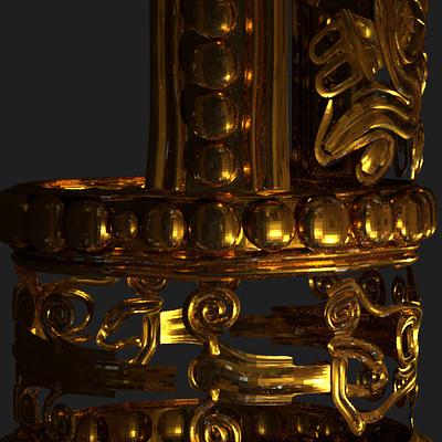 Science meets art mixtec gold nail tomb 7 oaxaca