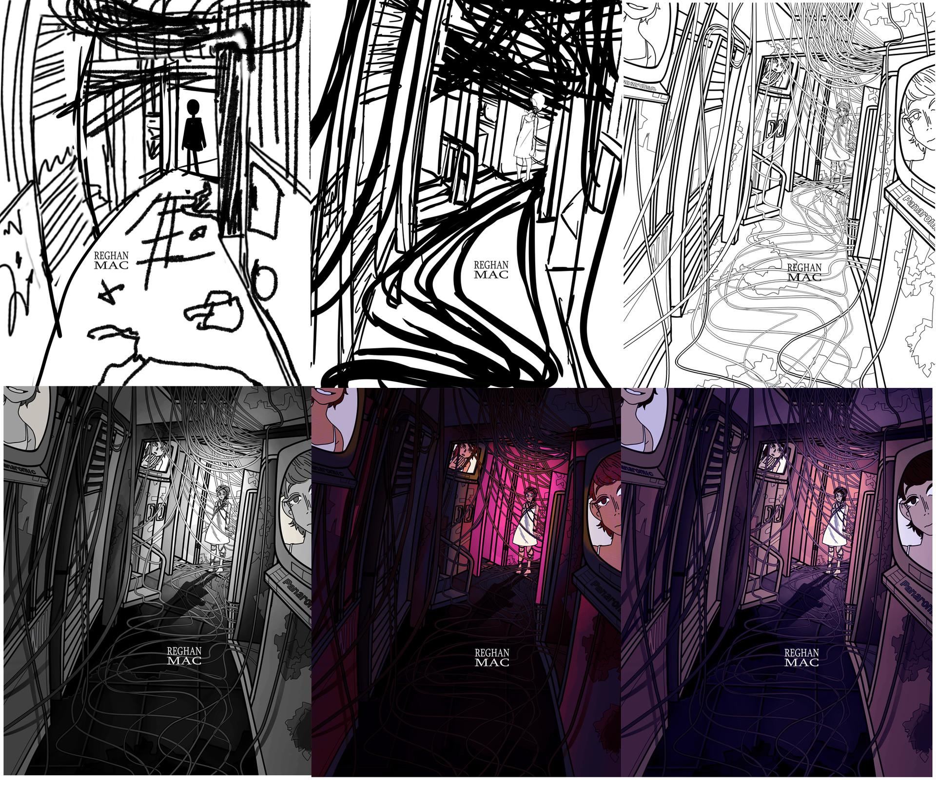Process. Posted on Instagram (@ReghanMac)
