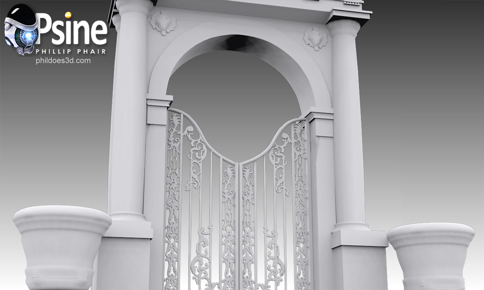 Decorative Gate Occlusion
