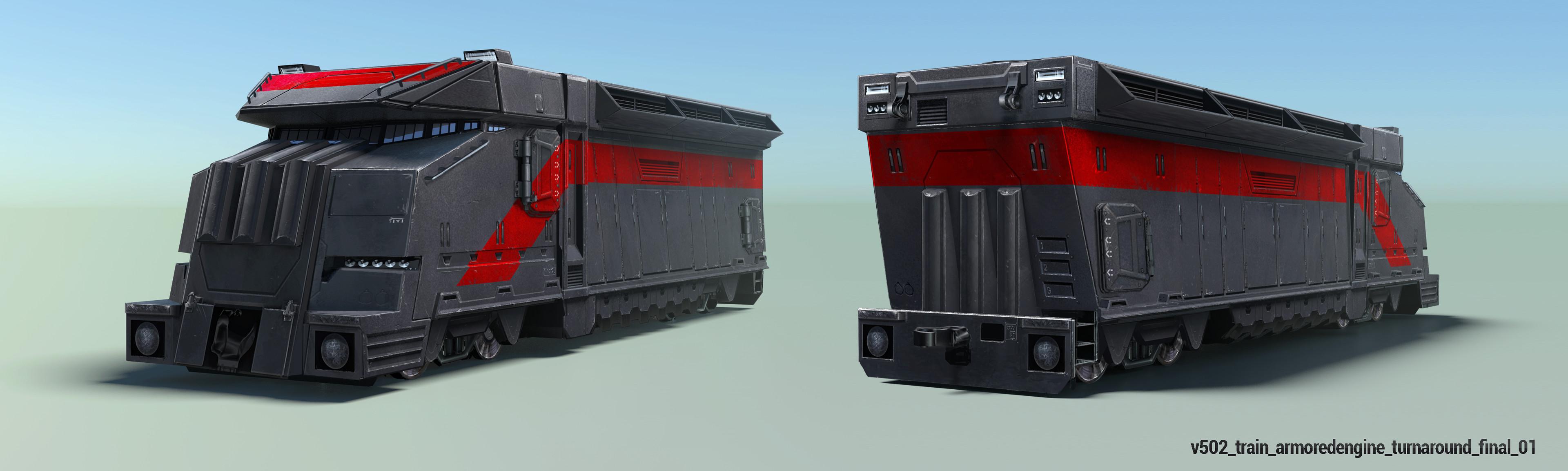 Armored Train Engine Final
