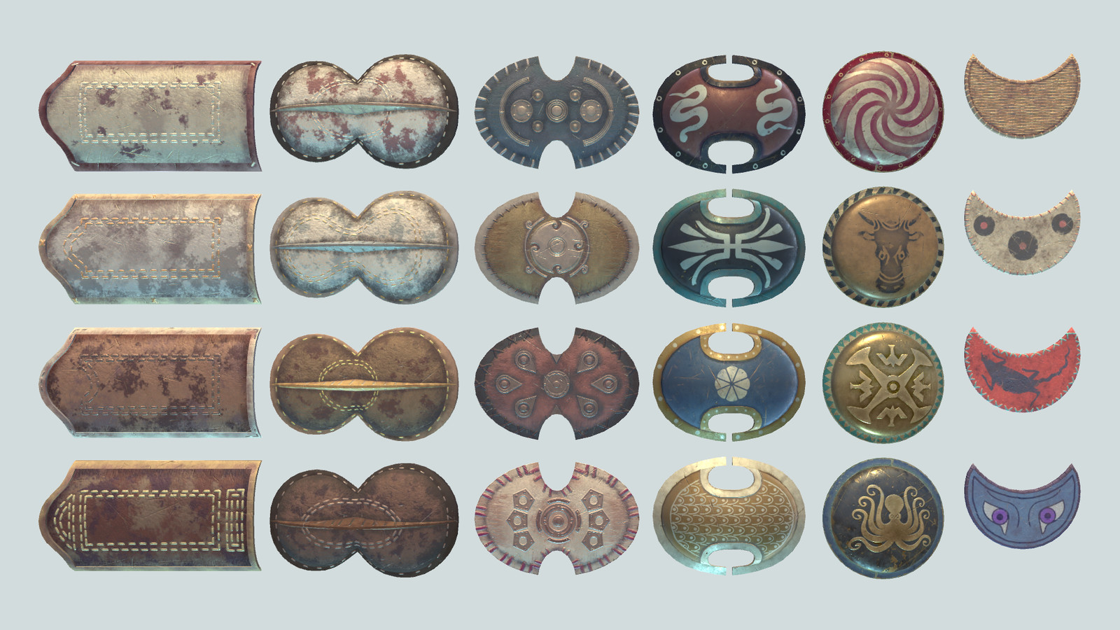 Greek Shields of the Bronze Age