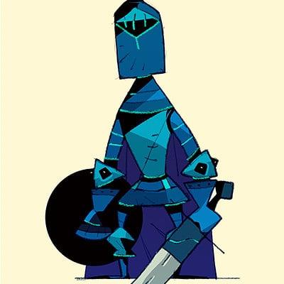 Satoshi matsuura blue knight s