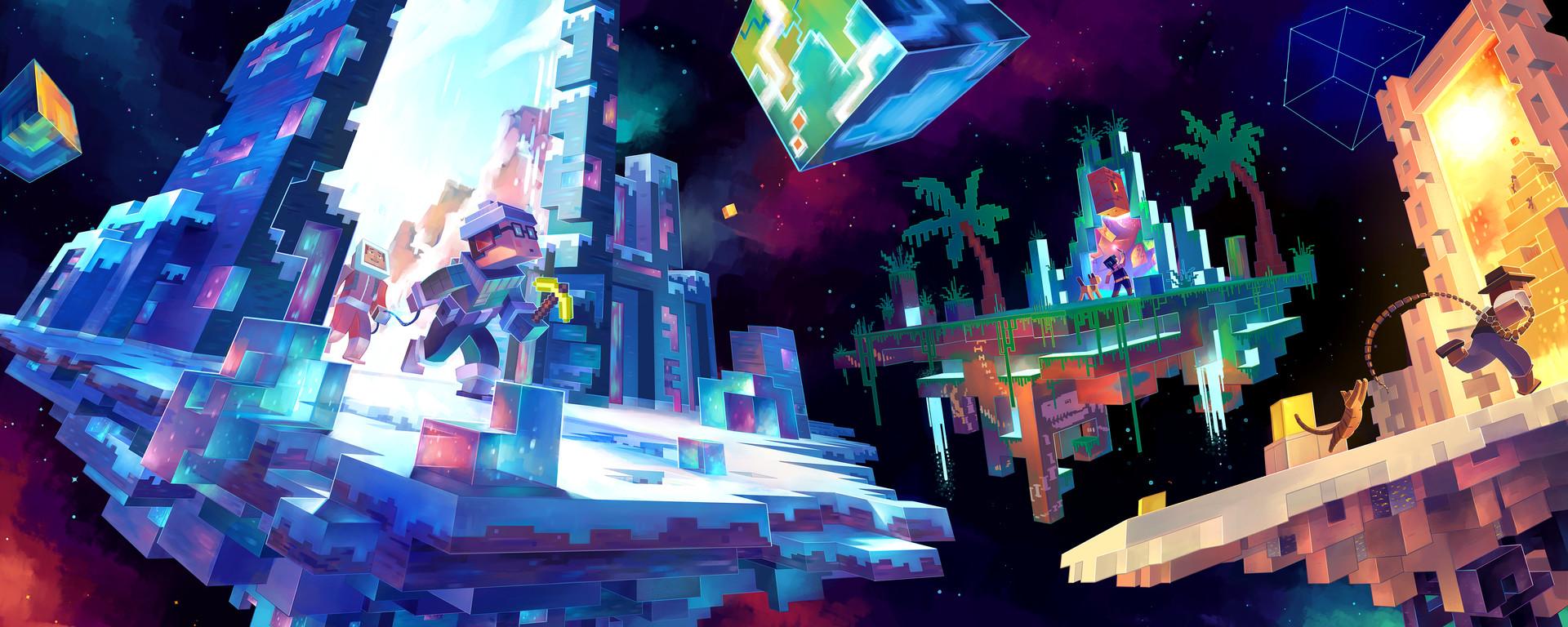 ArtStation - Minecraft art, Meghan Hetrick