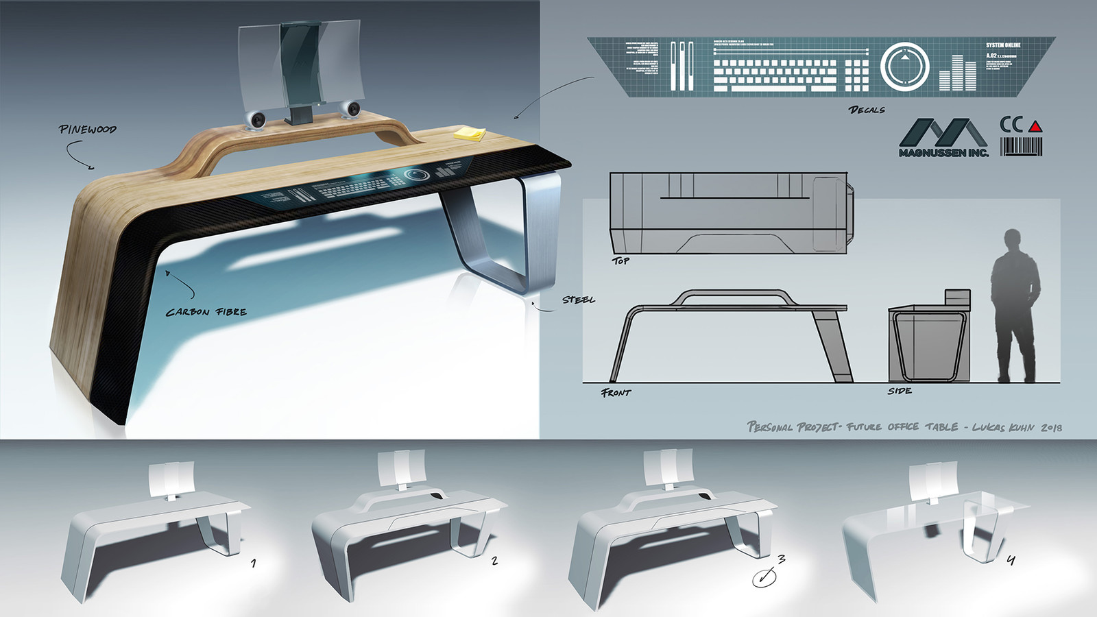 Personal Project - Future Office Table