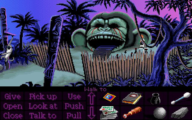 The main inspiration for the scene, from one of the best games series ever: Monkey Island!