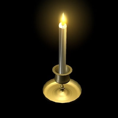 Holly cyprien candle