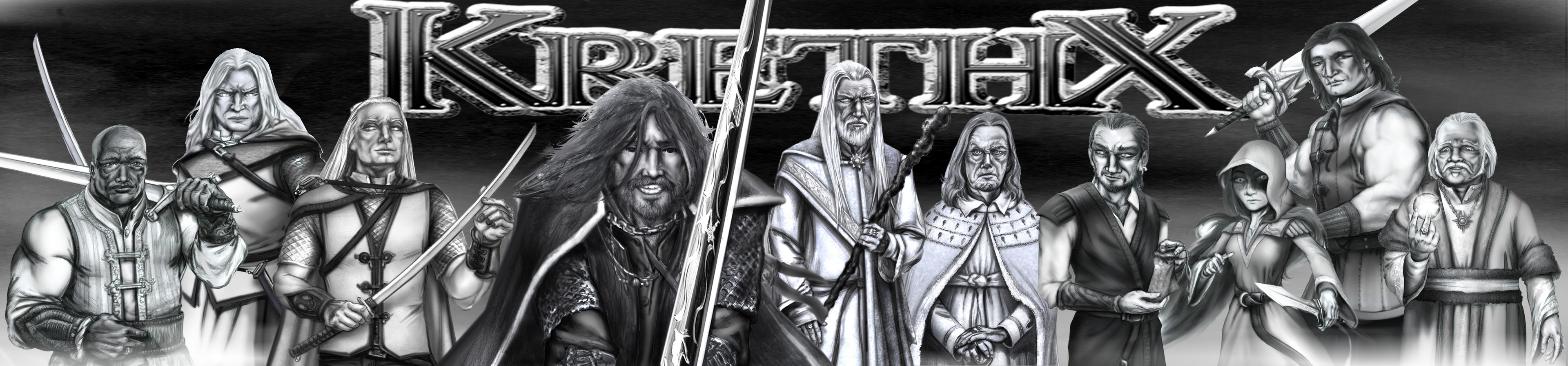 Krethx character poster