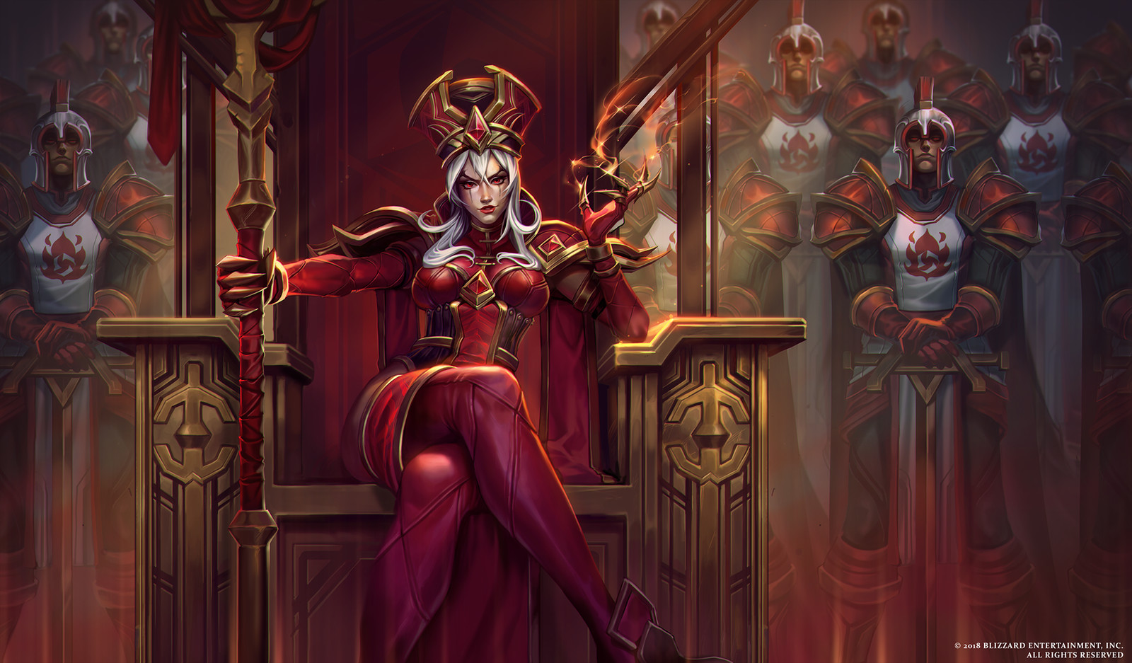 Whitemane Splash Art